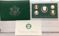 1998 S United States Mint Proof Set In Original Box
