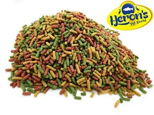HERONS Pond Sticks Mix 12.5L, 25L, 50L KOI FISH FOOD COLDWATER CARP GOLDFISH