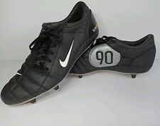 Nike Air Zoom Total 90 III Black/Silver Football Boots Size UK 12