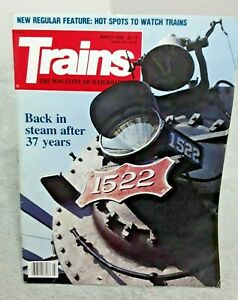 Trains Magazine Of Railroading March 1989