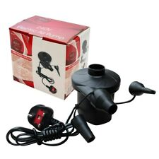 2in1 Electric Air Pump Inflator for Pool Camping Bed Mattress Boat - 12V & Mains