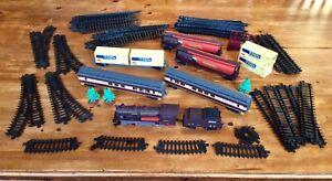 Job Lot Fenfa Train Model Set,Locomotive,Wagon,Tanker,Tracks,Coach,Cart,etc