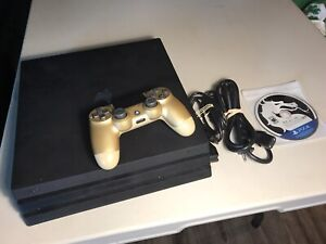 Sony PlayStation 4 Pro 1TB Jet Black Console with games