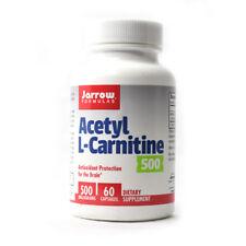 Jarrow Formulas Acetyl L-Carnitine 500mg - 60 Vegetarian Capsules