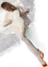 Sinead Cream Opaque tights Fiore MEDIUM 60 den 3D Pantyhose - LAST PAIR!