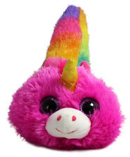 Fiesta Fursians Unicorn New Pink and Purple with  Long Rainbow Tail Rock Candy