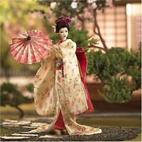 MAIKO Japanese Geisha Girl NEW World Culture Japan Barbie Doll Gold Label RARE