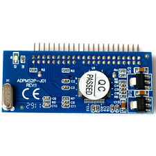 """1.8"""" 16pin Micro SATA SSD to 2.5""""44pin IDE Adapter Card JM20330 Chipset TW"""