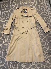 BURBERRY Vintage Mid-Calf Women's Trench Coat 10 long, Burberrys