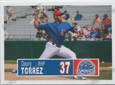 2018 Tennessee Smokies Daury Torrez RC Rookie Chicago Cubs