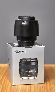 canon ef 85mm f/1.8 usm lens excellent condition with hood and UV filter
