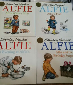 ALFIE BOOKS BY SHIRRLEY HUGHES 4 TO CHOOSE FROM £3.99
