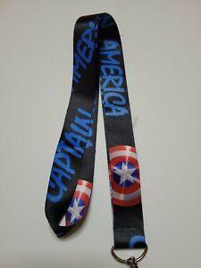 Captain America Shield Lanyard
