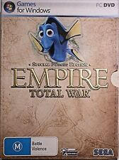 Empire Total War Special Forces Edition PC Game for Windows on Two DVD-ROM