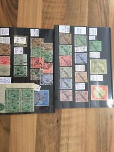 Malta stamps King George VI 5 shillings Self Government two shillings RARE 1*