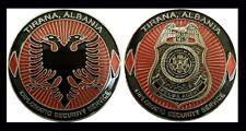 US EMBASSY TIRANA ALBANIA DIPLOMATIC SECURITY SERVICE CHALLENGE COIN  64