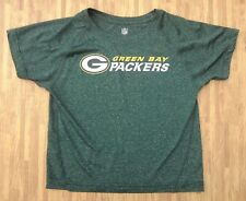 Green Bay Packers Athletic Shirt ~ Kids Size 7 ~ NFL Football Gym Workout Play
