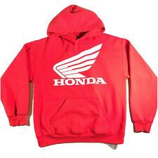 Honda Sweatshirt Hoodie Red Dirt Bike Motorcross Motorcycle