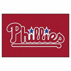 FANMATS MLB Philadelphia Phillies Nylon Face Starter Rug USA QUICK SHIP NWT