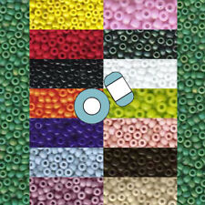 Miyuki 11/0 Glass Seed Beads Japanese Round Rocailles Opaque 24 grams U-Pick