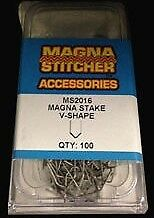 Motor Guard 100pk V-Shape Magna Stake Hot Staples fits Most Hot Staplers MS2016S