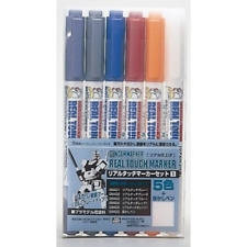 Gundam Real Touch Marker Set 1 Brand New