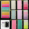 Bling Diamonds PU leather flip slots book Pouch wallet stand Phone case cover #4