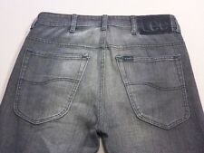037 MENS NWOT LEE SWAGGER TAPERED LEG CHAR WASH JEANS 31 REG $160 RRP.