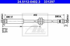 Bremsschlauch für Bremsanlage Vorderachse ATE 24.5112-0402.3
