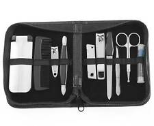 $100 PERRY ELLIS MENS 10 PIECE PEDICURE KIT MANICURE NAIL GROOMING TRAVEL SET