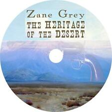 The Heritage Of The Desert Zane Grey Cowboy Western Action Audiobook on 1 MP3 CD