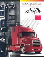 2000 Mack Vision CX Sleeper Truck Brochure my4093