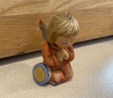 """New ListingBerta Hummel Goebel """"Heaven Sent"""" Angel 2.5"""" Figurine Ornament 1996"""