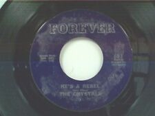 "CRYSTALS ""HE'S A REBEL / THERE'S NO OTHER LIKE MY BABY"" 45 NEAR MINT OLDIE"