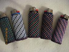 Hand Beaded Original Design Lighter Cases...Pinks & Purples Collection