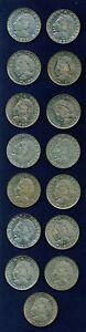 MEXICO  ESTADOS UNIDOS  1964-1983  50 CENTAVOS  COINS