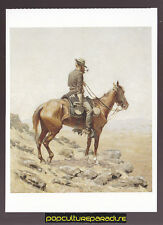 FREDERIC REMINGTON The Lookout (1887) ART ARTWORK PAINTING POSTCARD