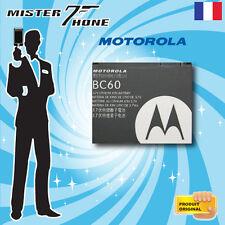 BATTERIE AUTHENTIQUE MOTOROLA BC60 C257 C261 AURA L2 L6 L7 L9 K1 Z3 V3x V1150