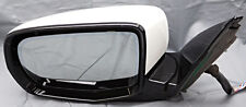 OEM Acura MDX Left Driver Side Mirror Surface Scratches on Housing White
