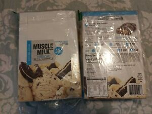 Muscle Milk Protein Bar, Cookies 'N Cream, 15g Protein, 24 Count 01/02/21