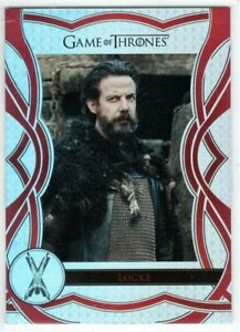 GAME OF THRONES THE COMPLETE SERIES THE CAST INSERT C69 LOCKE Noah Taylor