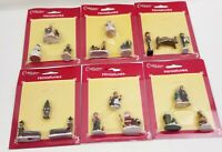 Cobblestone Corners Miniatures Christmas Figures 6 Packs of 3 All Different