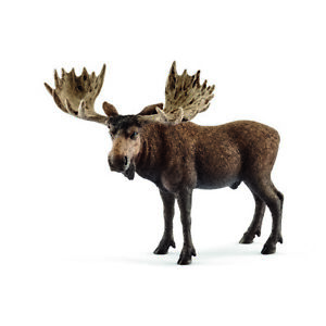 Schleich Wild Life - Moose bull - 14781 - Authentic - New