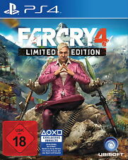 Far Cry 4 Limited Edition (Sony PlayStation 4, 2014, DVD-Box)++TOP+++