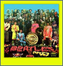 THE BEATLES- SGT. PEPPER  FANTASY 45 PICTURE SLEEVE #4 **COLORED VINYL SERIES**