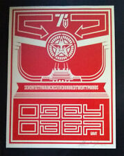 Shepard Fairey CHINESE BANNER #1 signed Print 2001 Obey Giant Poster -/200 UK