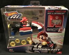 Hot Wheels AI Intelligent Race System Mario Smart Car Body & Cartridge Kit NEW