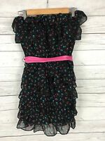 Women's Jack Wills Ruffled Summer Dress -UK10 - Floral - Silk - Great Condition