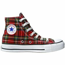 CONVERSE SCHUHE ALL STAR CHUCKS EU 44 UK 10 TARTAN KARIERT PLAID LIMITED EDITION