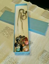 Tova Design Swarovski Charm Pendant Necklace